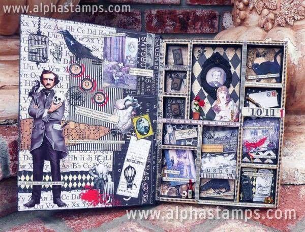 www.AlphaStamps.com Gallery - PoeConfigBook3