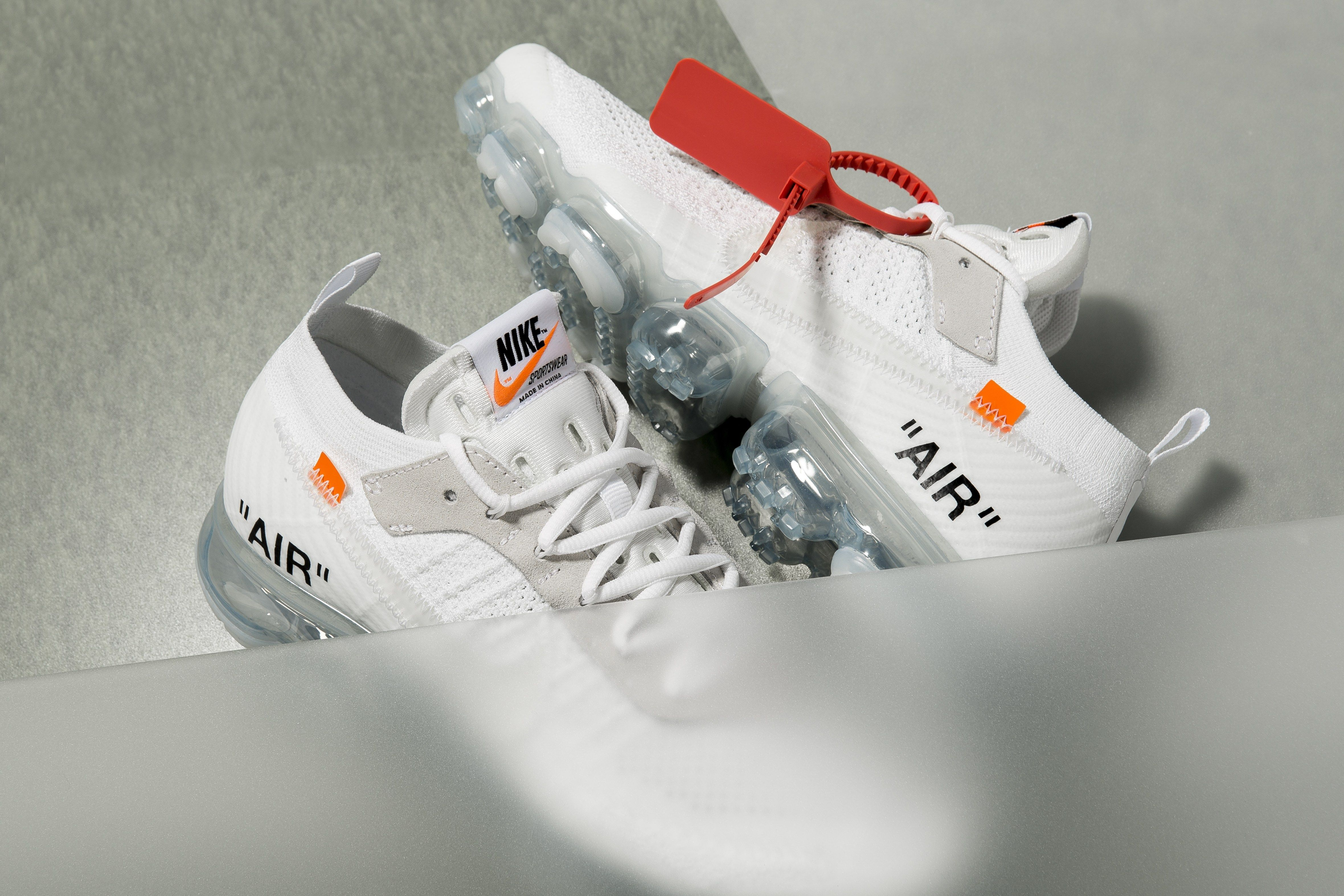 "huge selection of 6fbe7 8e096 OFF WHITE x Nike Air VaporMax ""White""    Release Date   Nice Kicks"