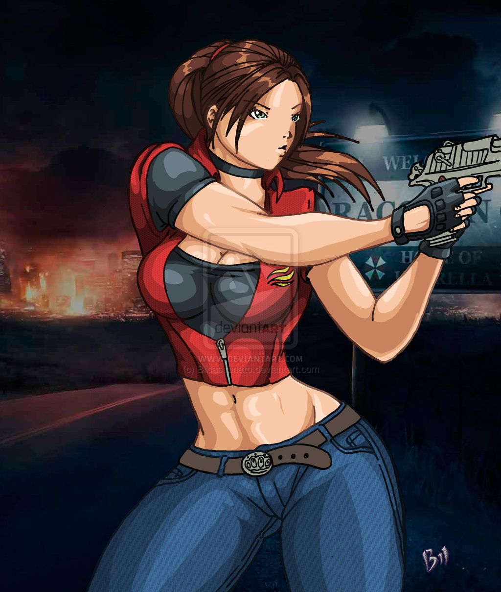Claire Redfield By Bilcassonato  Claire, Resident Evil -1808