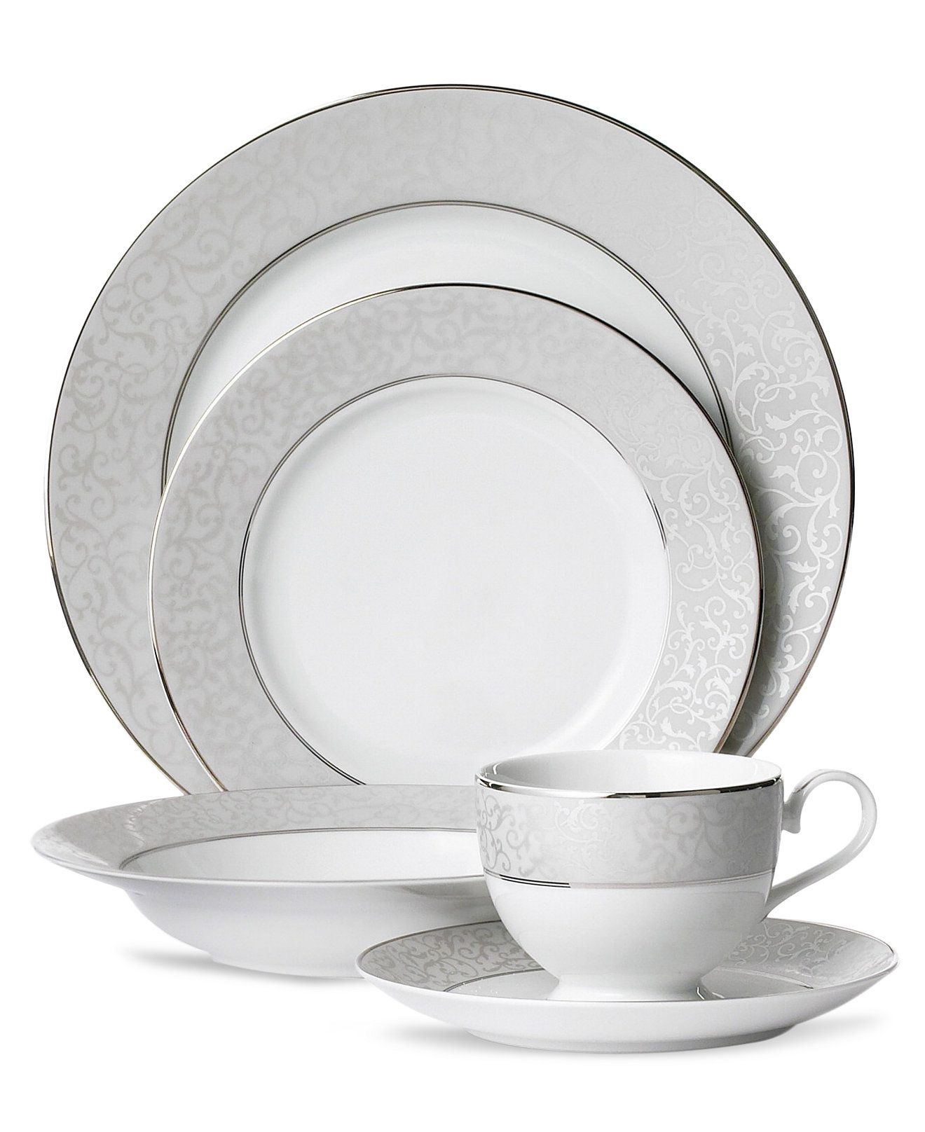 Mikasa Parchment 5 Piece Place Setting  sc 1 st  Pinterest & Mikasa Parchment 5 Piece Place Setting | Mikasa China and Tablewares