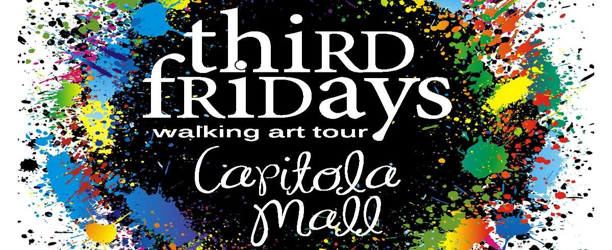 Third Fridays-Capitola Mall Walking Art Tour » Cruz Cal: Santa Cruz's Arts and Culture Calendar Please join me for the launch of Third Fridays-Capitola Mall on Friday, March 20th, 5:30 - 8:30pm!  I'll be sharing the empty store with next to the Hallmark Store with one other artist.  Third Fridays - Capitola Mall is a free monthly indoor walking art tour. Each month, the stores and venues at the Mall host an evening with local artists and their work, celebrating the creative culture that…