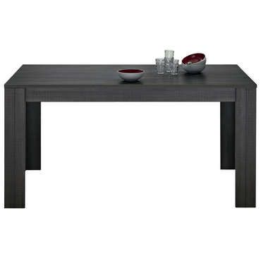 Table Rectangulaire LANA Coloris Réglisse   Pas Cher ? Cu0027est Sur Conforama .fr