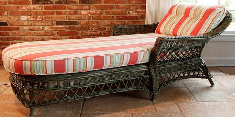 Henry Link Wicker Sleeper Sofa