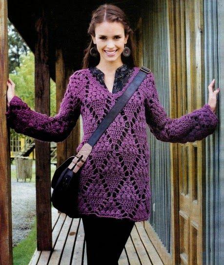 Blusa De La Croche Cardigan De Croche Camisa De Croche Roupas