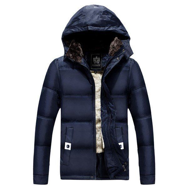 lovever Mens Hooded Packable Down Puffer Casual Lightweight Down Fall and Winter Jacket