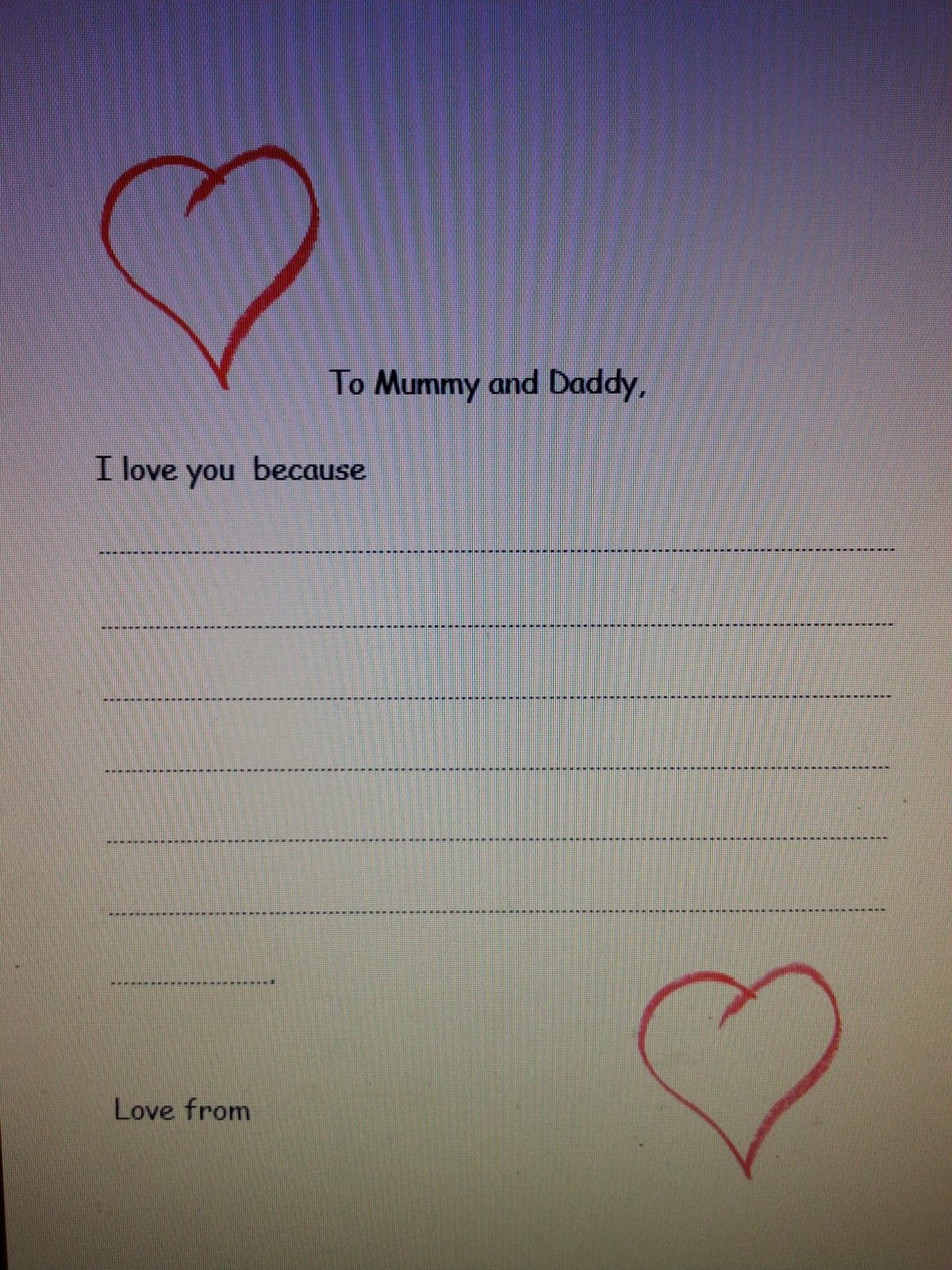 A Freebie Valentines Day Letter To Parents Printable
