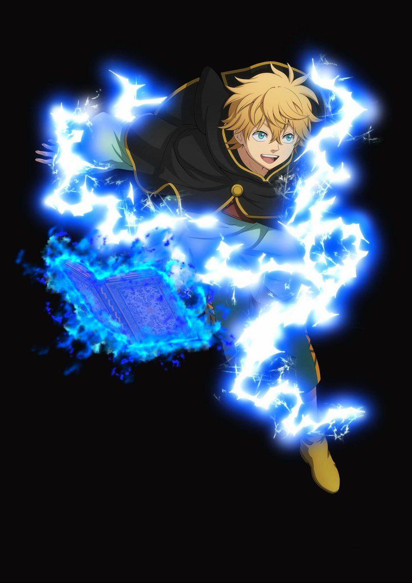 Luck Voltia Black Clover Anime Black Clover Manga Anime Wallpaper
