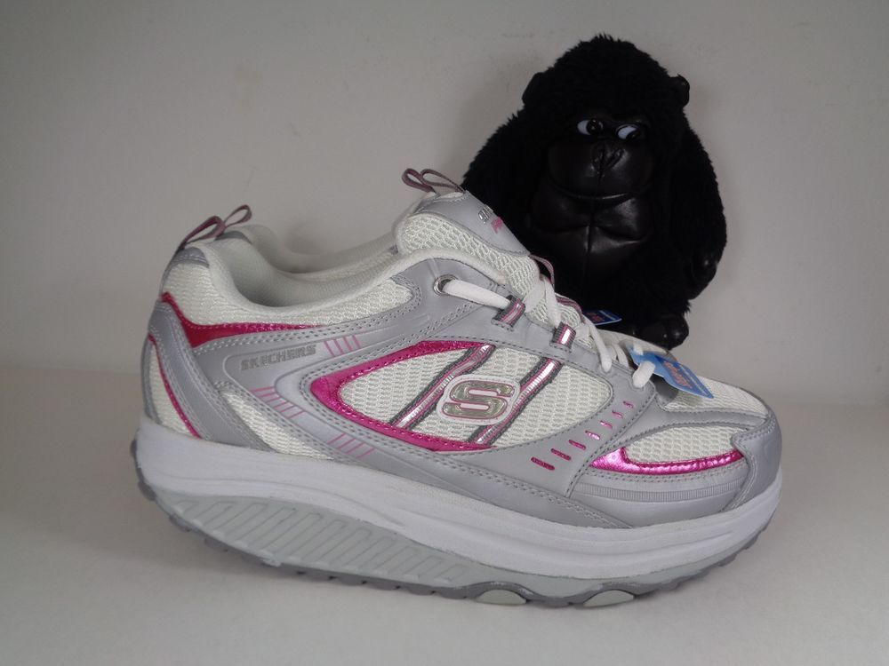 Women S Skechers Shape Up While You Walk Running Shoes Size 10 Us