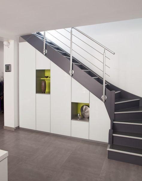 Placard sous escalier sur mesure Paris, Nantes, Vannes, Lorient
