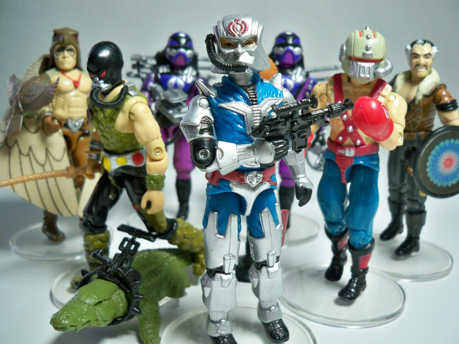 Kids Toys Action Figure: A Set Of Action Figures For The Cobra Operatives From The