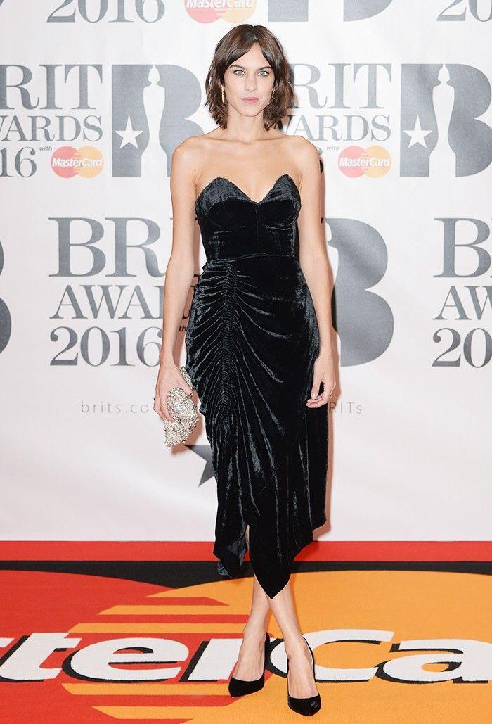 The Brits Red Carpet in Brief: Thighs, Nighties and Jumbo Dresses via @WhoWhatWearUK