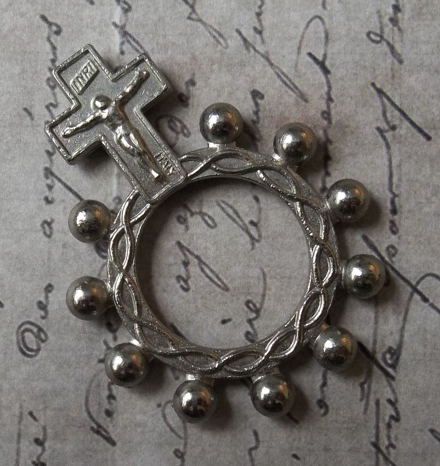the company to catholic rosary with wooden rings crucifix ring add cart wishlist