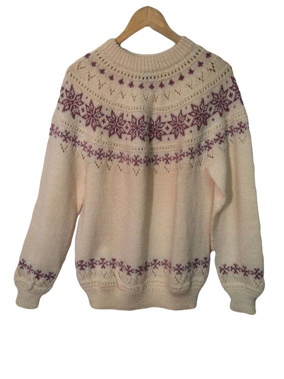 DALE OF NORWAY Sweater Sz M 42 Medium by Fashion… | Nordic Stranded ...