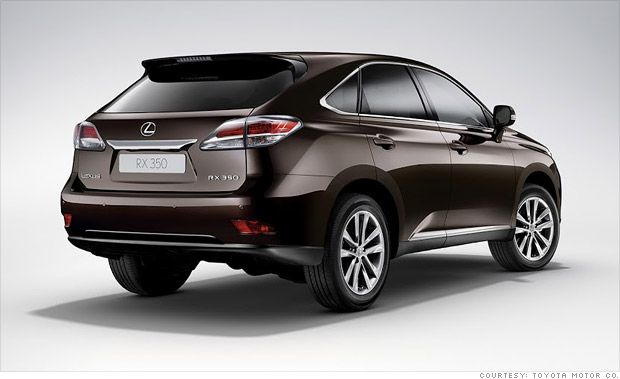 Consumer Reports Names Most Reliable Cars Lexus Rx 350 Lexus Suv Reliable Cars