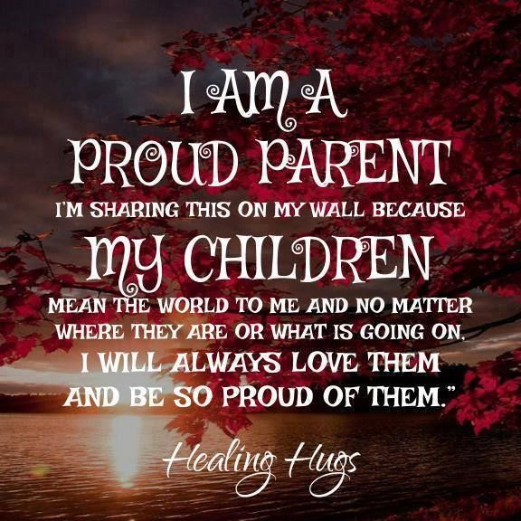 I Am A Proud Parent And My Kids Mean The World To Me