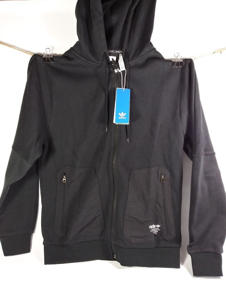 765afcce3171e NEW MEN'S ADIDAS ORIGINALS NMD FULL ZIP HOODIE SIZE Small #CE1618 ...