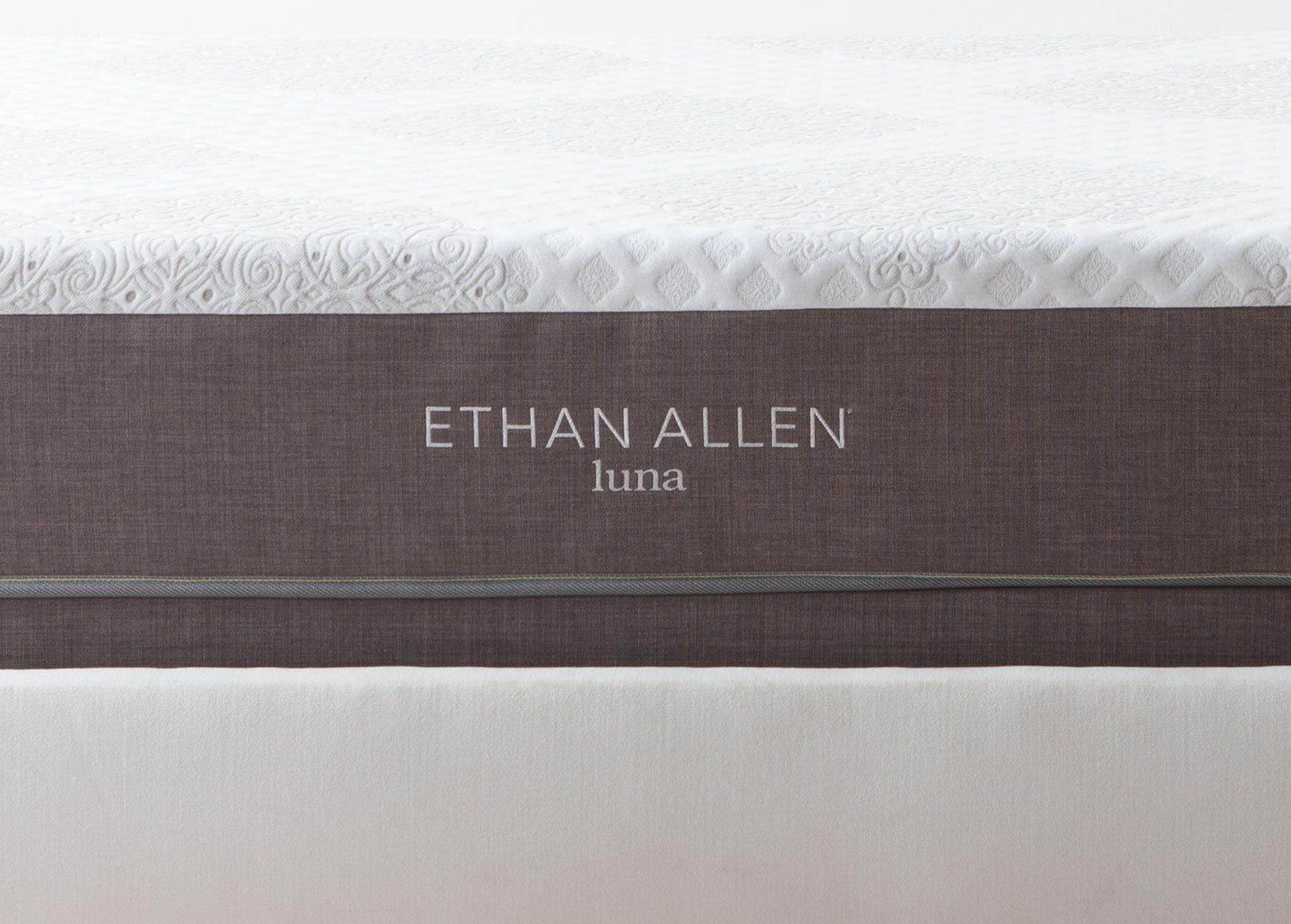 Ethan Allen Luna Gel Mattress Set King