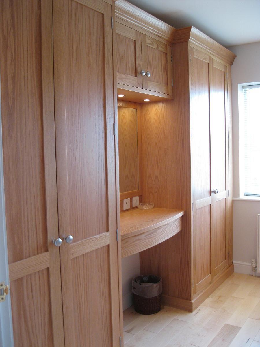 Bedroom interior design with almirah dressing rooms design  google search  modelo de closet  pinterest