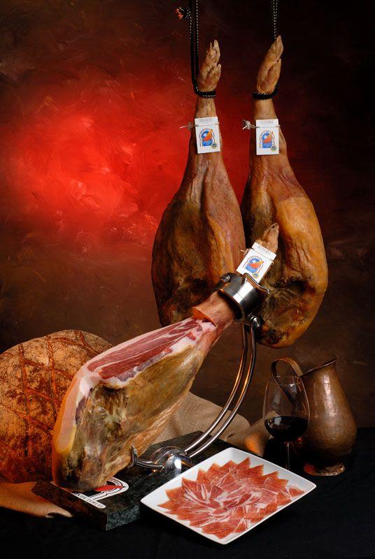 Spanish Jamon Ham Iberico Serrano From Teruel Pdo By The Eu