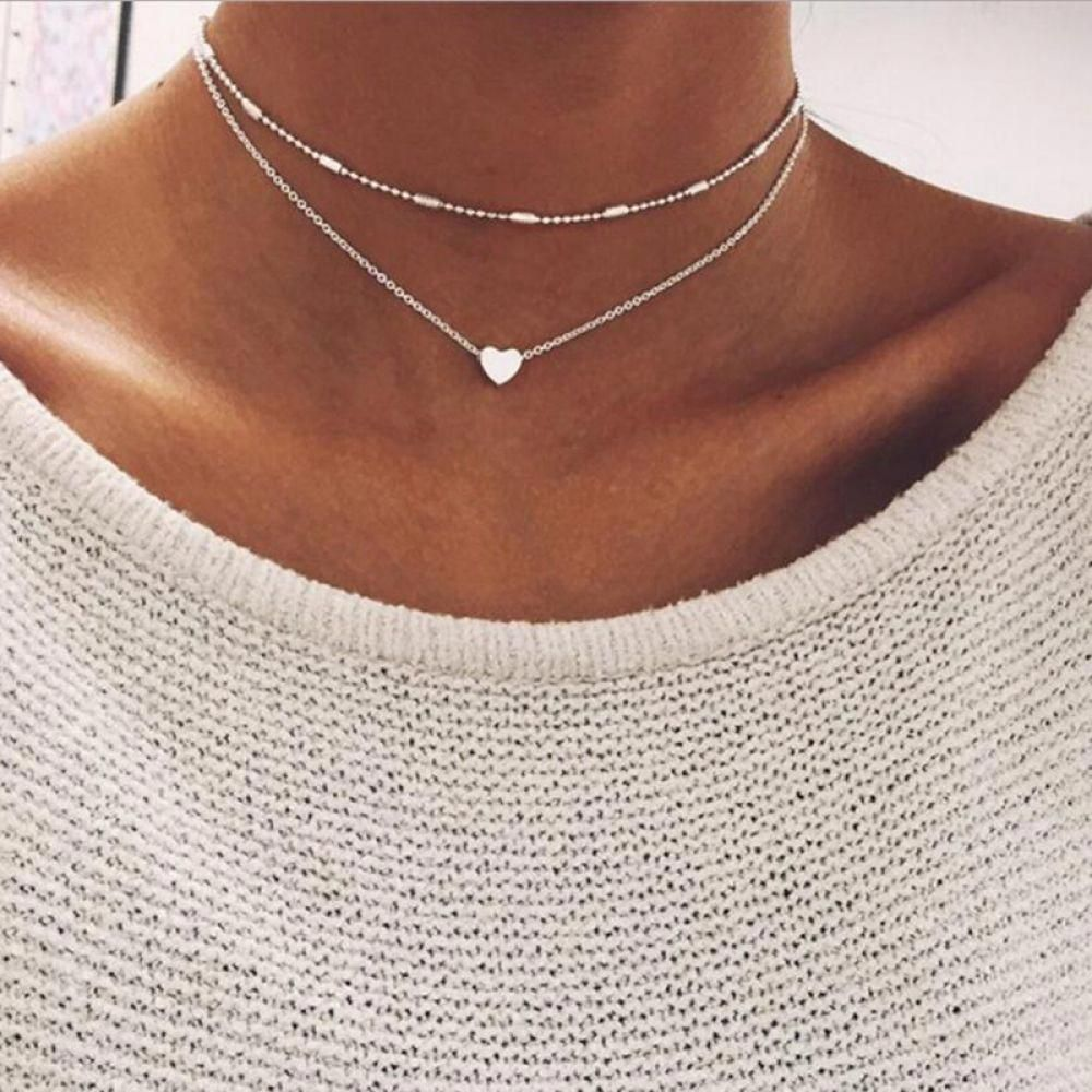 Women's Heart Shaped Pendant Necklace Price:$ 9.00 & FREE Shipping #Fitness #Sports #Gifts #Health #...