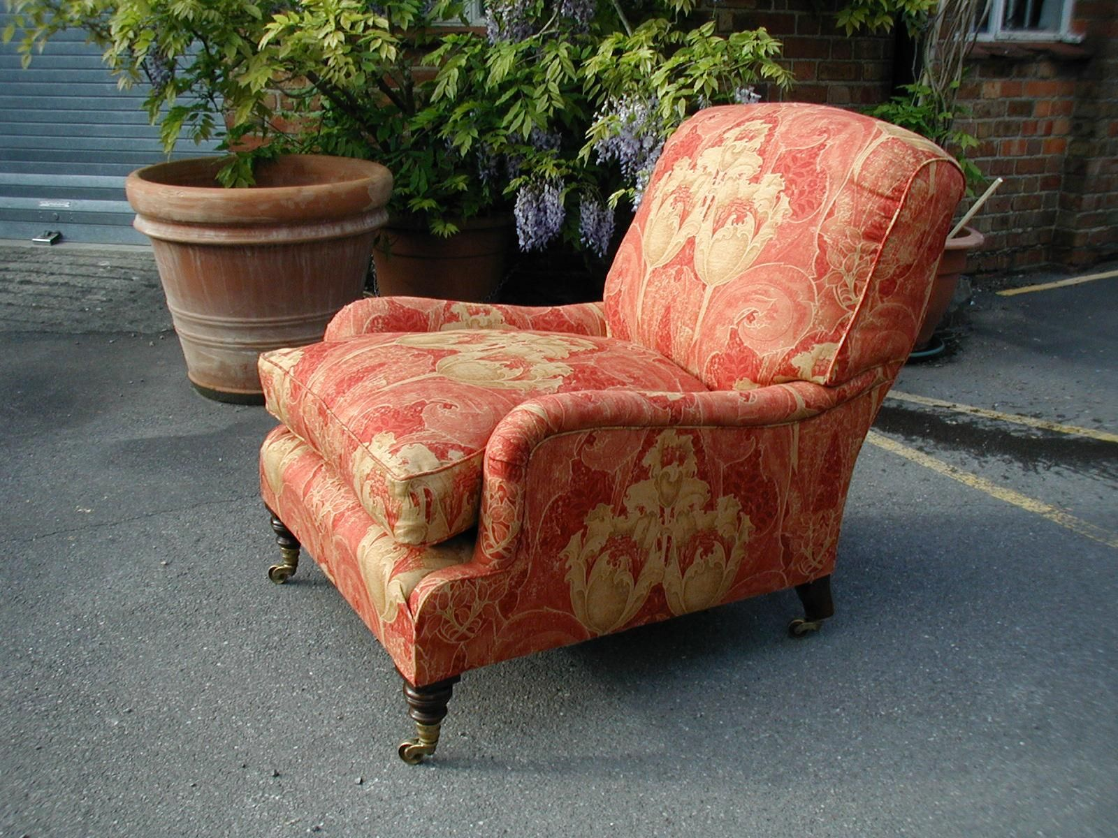 Howard And Sons Chair Couch Upholstery Modern Upholstery Sofa Upholstery