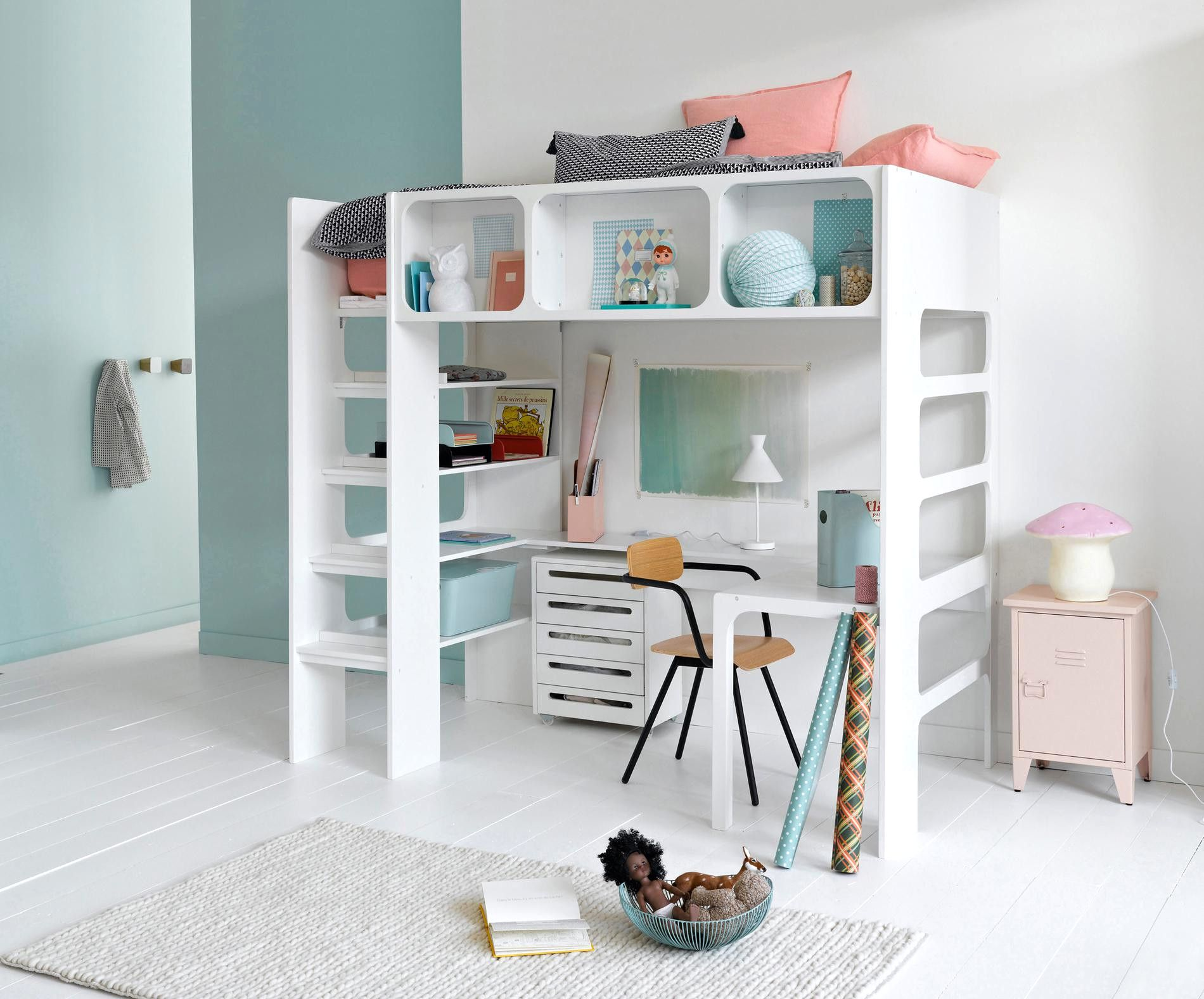 Emejing Idee Rangement Chambre Fille Photos Amazing Lit Mezzanine Deco Chambre Petit Garcon Chambre Lit