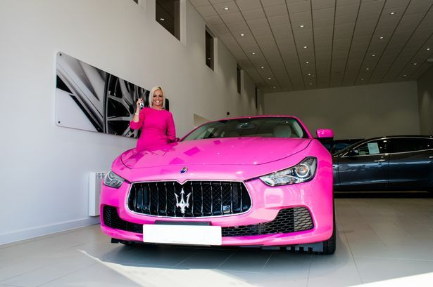 Who Owns Maserati >> This Woman Owns The First Pink Maserati In The Uk Maserati And Cars