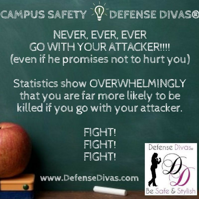 It's National Campus Safety Awareness Month. BeSafe with