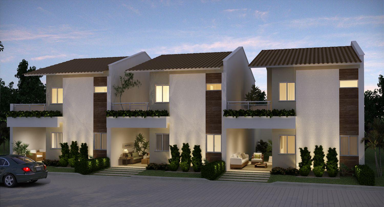 Duplex moderno cerca con google fachadas adosadas for Casas duplex modernas
