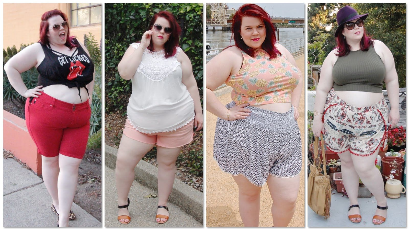 5c77dbb25855 Plus Size Shorts   Crop Top Try-On Haul  Asos Curve