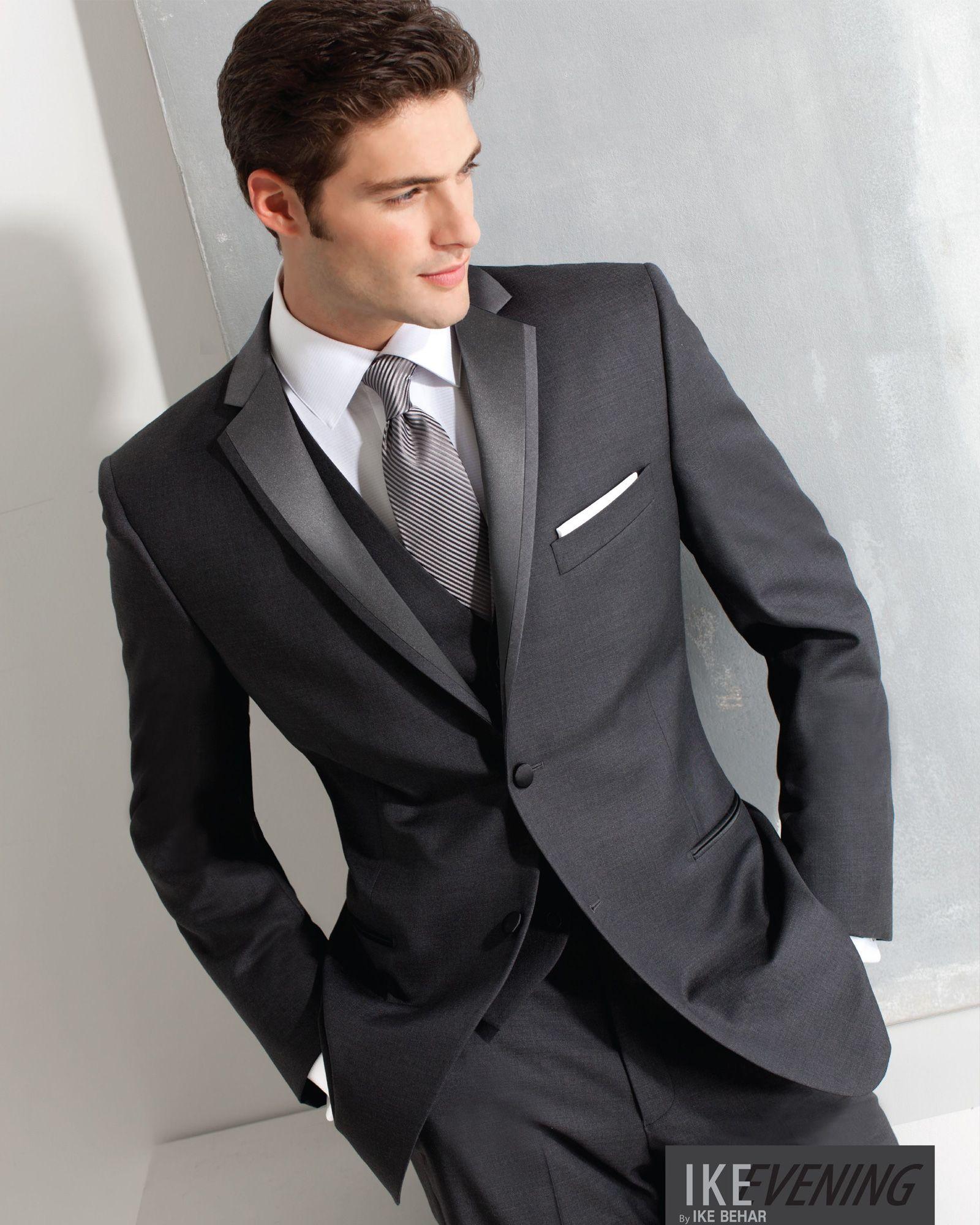 Tuxedo.ca - IKE BEHAR AIDEN IRON GREY TUXEDO | Wedding | Pinterest ...