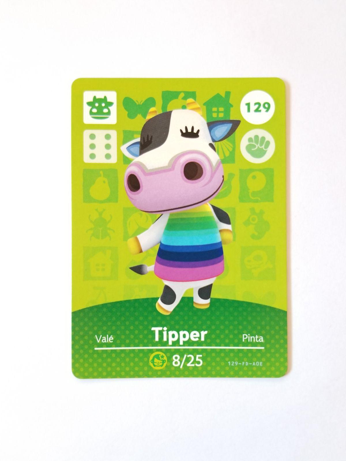 Animal Crossing Amiibo Card Tipper 129 Mercari In 2020 Animal