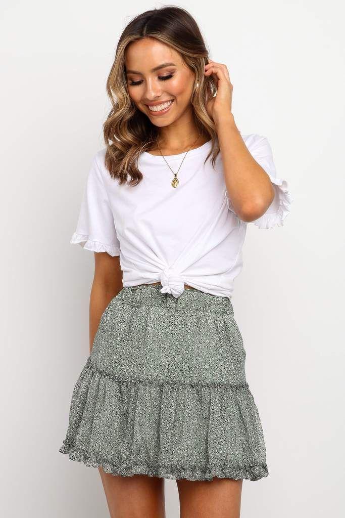 Pax Skirt - Green