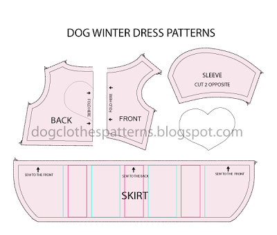 Dog Dress Pattern Leave The Skirt Off For A Shirt DIY Dog Unique Free Dog Clothes Patterns
