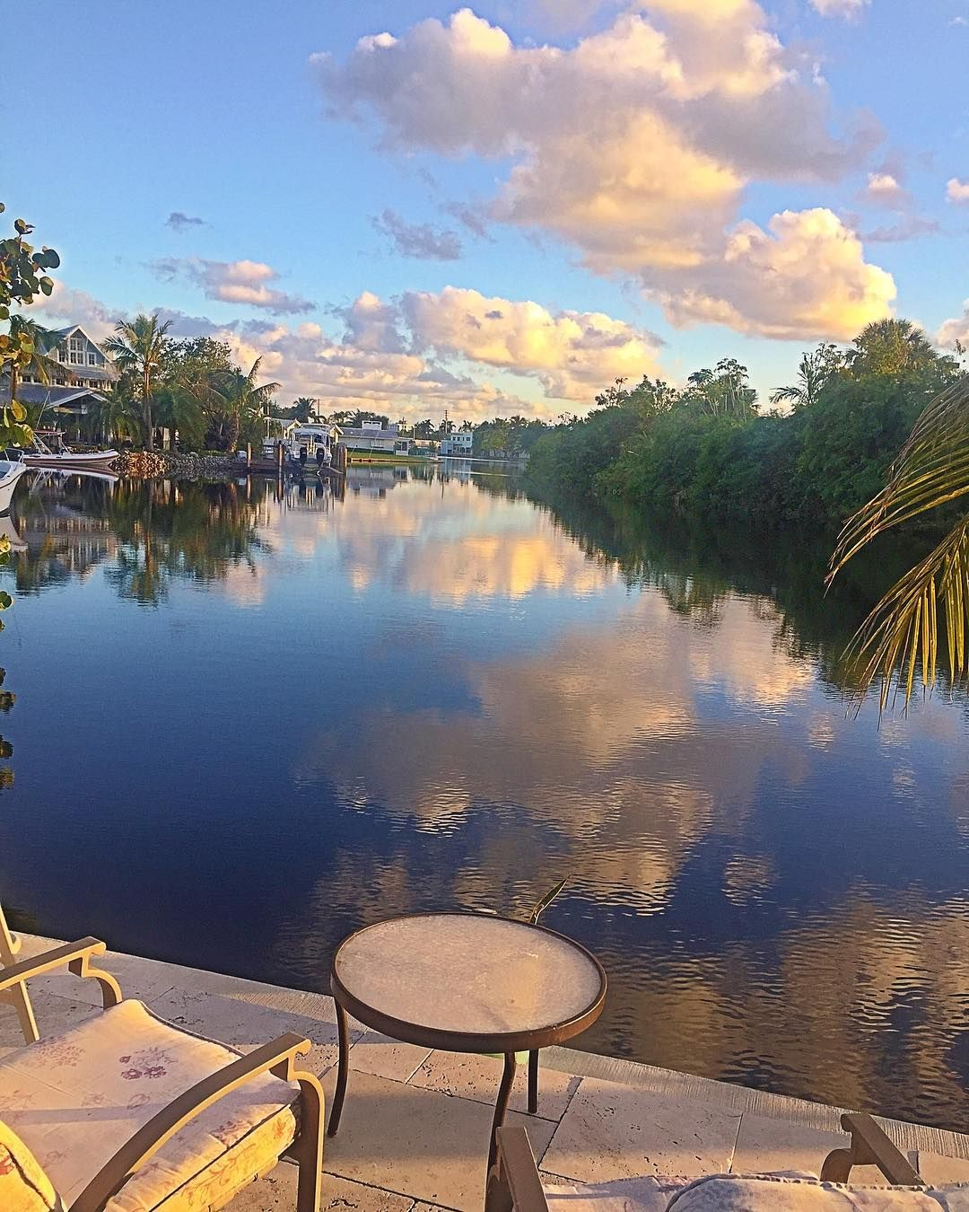 My Breakfast Views For A Week...Fort Lauderdale I Think I