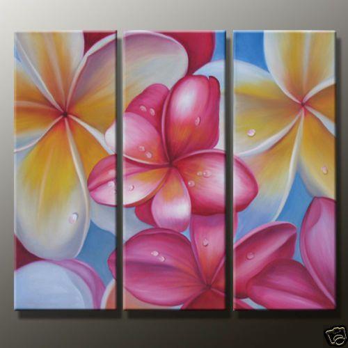 pastel flowers painting