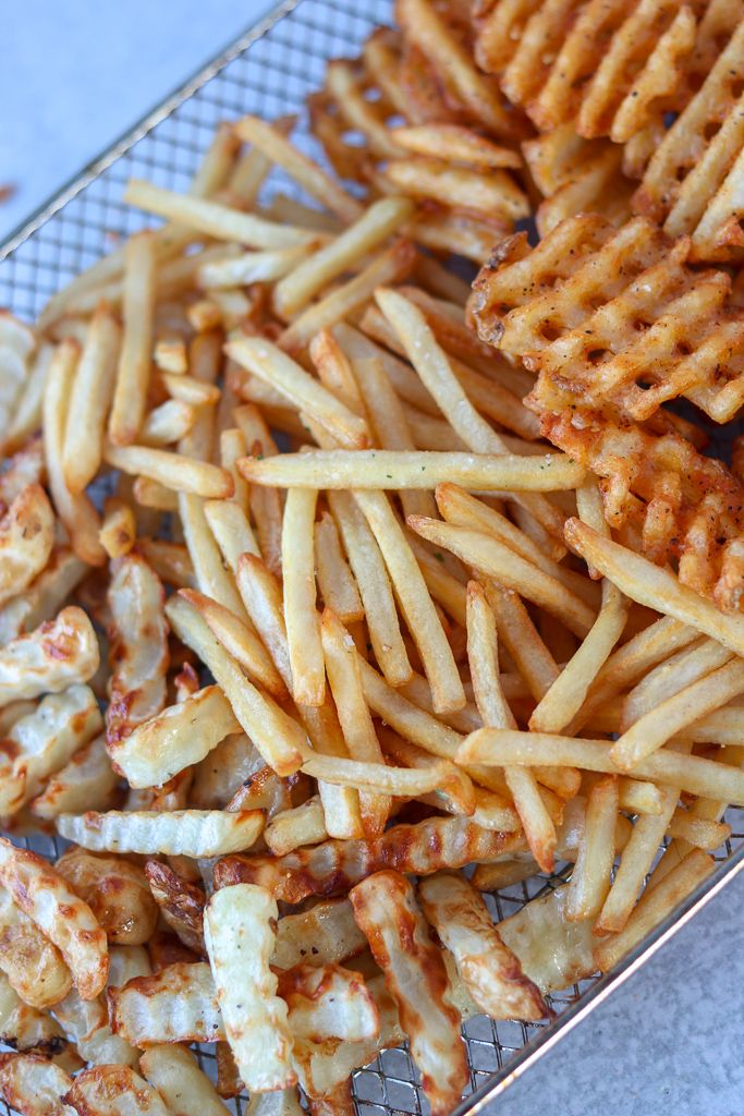 Air Fryer Frozen French Fries Recipe in 2020 Frozen