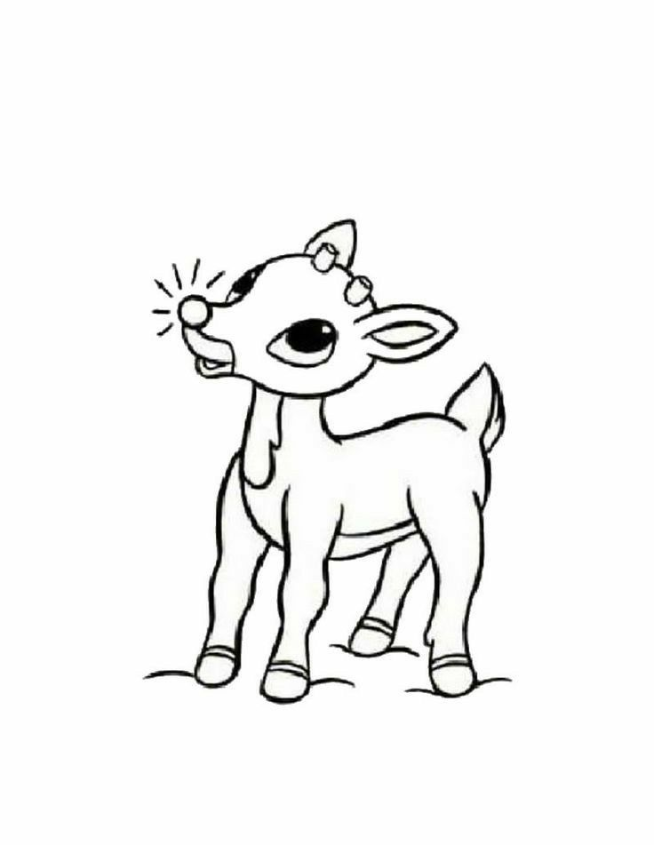 Adorable Rudolph Rudolph Coloring Pages Christmas Coloring Pages Christmas Coloring Sheets