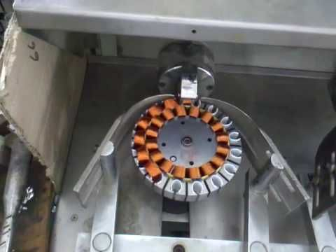 Ceiling Fan motor stator coil winding machine This ceiling