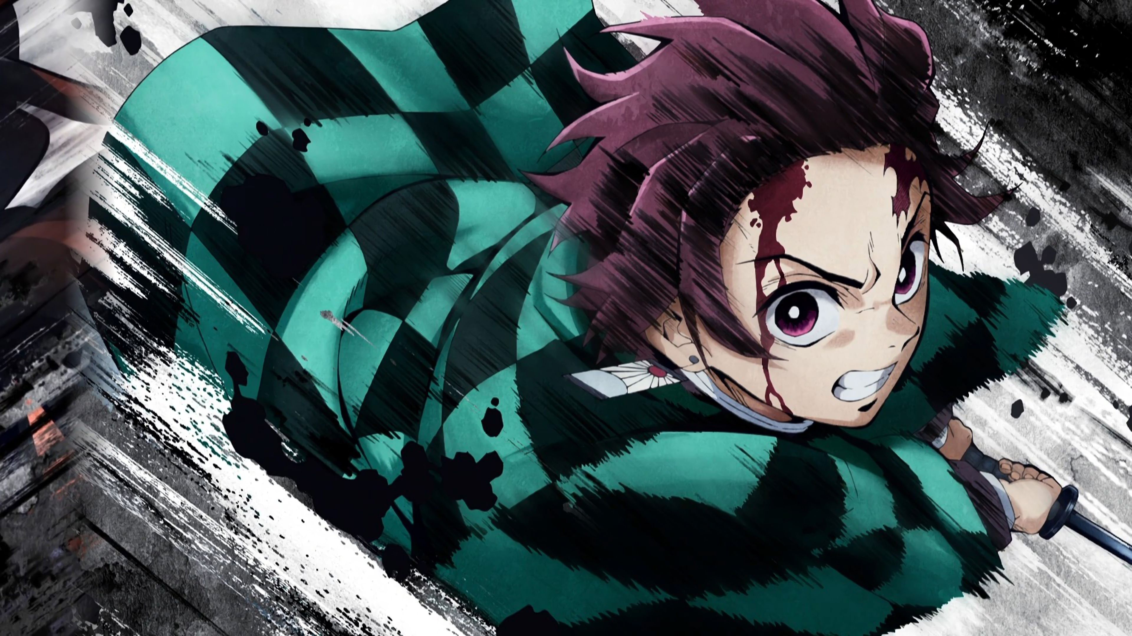 Kimetsu No Yaiba Wallpaper Hd Pc Tanjirou Kamado Kimetsu No Yaiba 4k Wallpaper 34 Yuinime Wallpaper Engine Anime Free Download Kim In 2020 Demon Slayer Anime Slayer