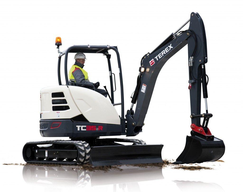 Terex updates line of compact excavators with better price