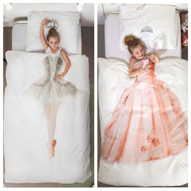 32 Dreamy Bedroom Designs For Your Little Princess: Cool Idea For Kid's Bedroom. Princess And Sweet Ballerina