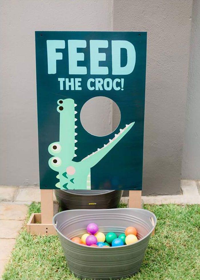 Photo of Chomp Chomp Krokodil Geburtstagsfeier | Karas Partyideen
