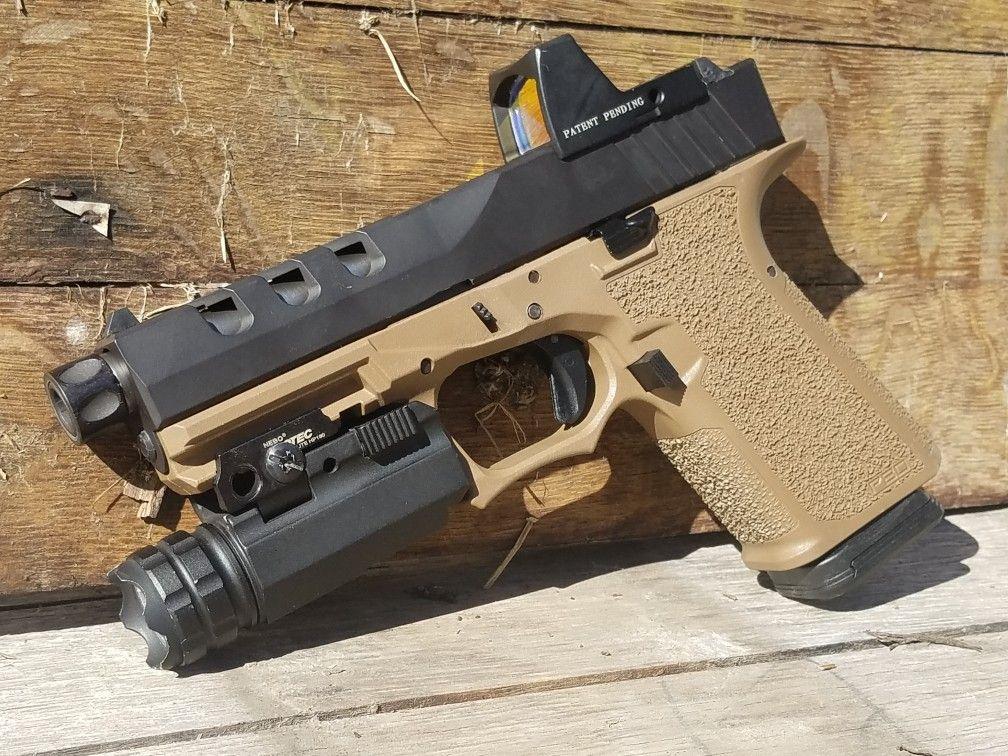 Polymer 80 glock 19 g19-Brownells $110, Rock Slide USA with