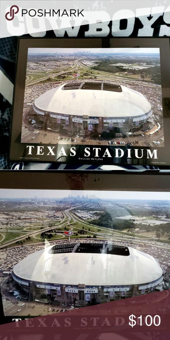 NFL Dallas Cowboys stadium framed pic Cowboys stadium