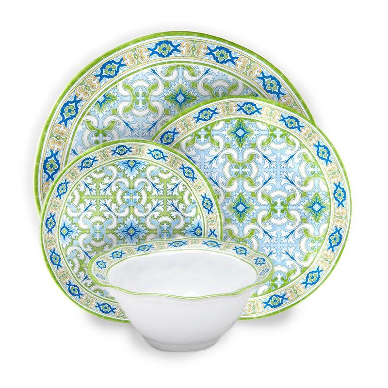Q SQUARED Lima Melamine Dinnerware Collection - Gracious Home  sc 1 st  Pinterest & Q SQUARED Lima Melamine Dinnerware Collection - Gracious Home ...