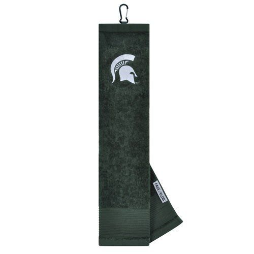 NCAA Michigan State Embroidered Golf Towel By Team Effort