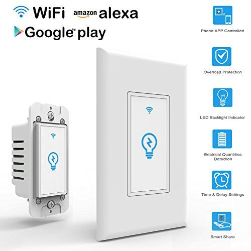 Arvin Light Switch Work with Alexa In Wall Light Switch