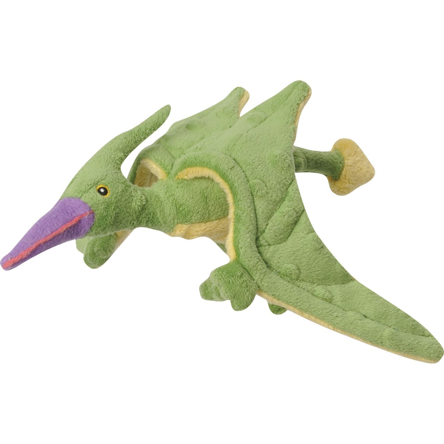 Quaker Pet Group Terry Mini Flying Dinosaur Pterodactyl with Chew