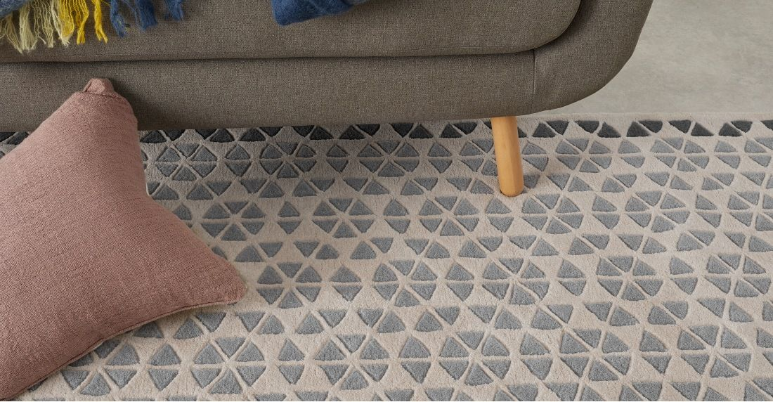 Made Tonal Grey Rug Rugs For